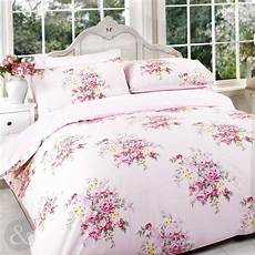 vintage floral duvet cover pink red cotton blend bedding bed sets quilt cover ebay
