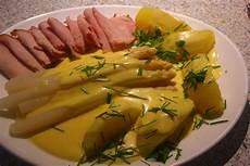 spargel mit schinken spargel mit sauce hollandaise schinken und kartoffeln
