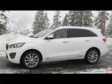 Kia 7 Sitzer - 2016 kia sorento 7 passenger suv test drive review