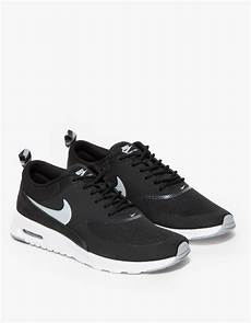 nike air max thea in black lyst