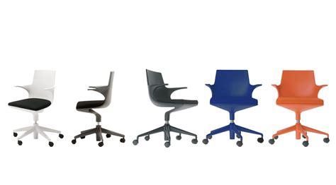 Poltrona Ufficio Kartell : Scopri Poltrona Da Ufficio Spoon Chair, Nero / Cuscino