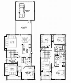 4 bedroom double storey house plans lovely 3 bedroom double storey house plans new home
