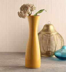 buy yellow ceramic vase by decardo ceramic vases