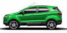 ford ecosport to gain seven seater variant autoevolution