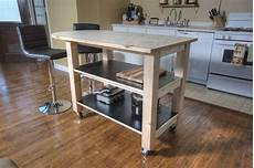 Kitchen Island On Wheels Plans by How To Build Diy Kitchen Island On Wheels Diy How To