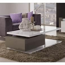 tavolo da divano rimini tavolino da salotto bianco e grigio scuro tavolini