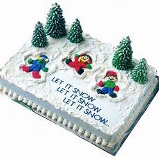snow much fun cake wilton