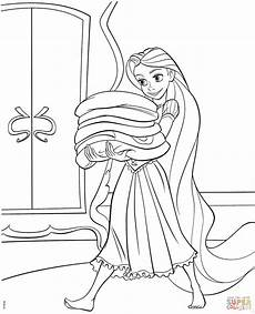tangled rapunzel coloring page free printable coloring pages