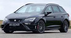 seat st fr tuning je design tunes the seat st cupra to 350 ps carscoops