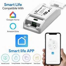 Bakeey Smart Light Switch Wifi Module by Bakeey 10a Basic Wifi Smart Switch Wireless Home