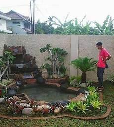 Tukang Taman Cibubur Taman Kolam Ikan Desain Taman