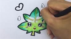 Cara Gambar Kartun Daun Belajar Gambar Untuk Anak