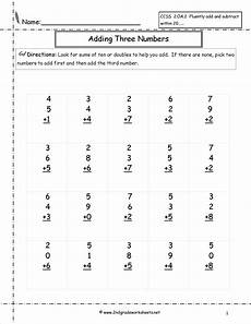 2nd grade math worksheet adding two digit numbers free math worksheets and printouts