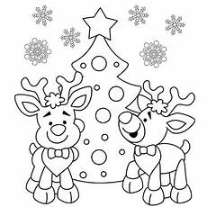 reindeer coloring page free recipes coloring