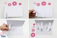 3d Karten Selber Machen - pop up karten basteln 3 ideen mit anleitung und vorlage