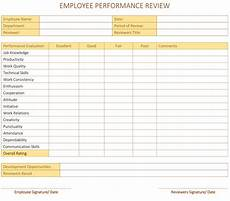 employee performance review template pdf dotxes