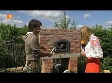 le selber bauen backofen backhaus zdf fernsehgarten