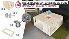 le fameuse table basse x4 caisses en bois par simply a