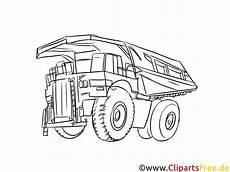 minenfahrzeug lkw kipper bild schwarz wei 223 vorlage zum