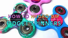 how to hydro dip fidget spinners diy with nail