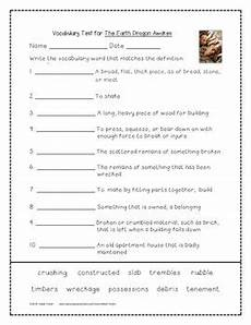 the earth awakes worksheets 14426 the earth awakes activities 4th grade journeys unit 3 lesson 12