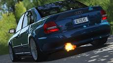 ac audi s4 b5 tuned version selfmade sound youtube