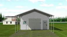 Carport Mit Schuppen Preise - 20x36 steel carport with storage