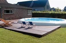 comment installer une piscine semi enterrée piscines hors sol mode d emploi visite d 233 co