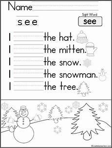 kindergarten writing practice i see madebyteachers
