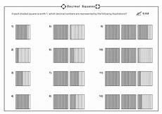 decimal square worksheets 7298 decimal squares worksheet for 4th 5th grade lesson planet