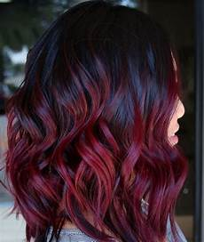 Wine Hair Dye mulled wine hair color is a comeback and we want