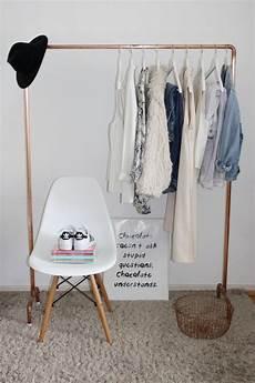 kleiderständer selber machen eine eigene kleiderstange aus kupferrohren selber bauen