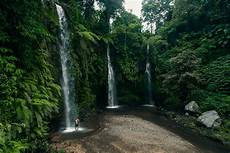 Benang Stokel Waterfall In Lombok Three Falls Journey Era