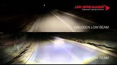 Halogen Vs Led Headlights Jw Speaker 8700 Series