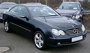Mercedes W209 Front 20080215jpg  Wikimedia Commons