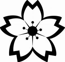 Bunga Hitam Putih Clipart Best