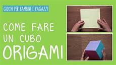 come fare un amaca come fare un cubo origami con la carta tutorial