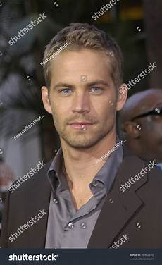 Actor Paul Walker At The World Premiere Of His New 2