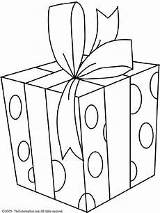 gifts coloring pages to