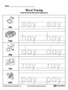 simple letter tracing worksheets 23931 early childhood writing worksheets with images word family worksheets word families family