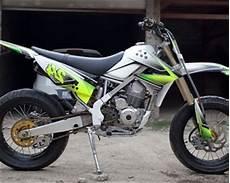 Klx Bf Modifikasi by Modifikasi Klx 150 Supermoto Motor Kawasaki Buat Adventure