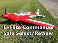 e flite e flite commander safe select review