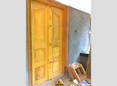 kerala style Carpenter works and designs: Main Entrance