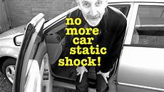 how to start and stop a car youtube how to stop getting a static shock from your car youtube
