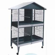 uccellini in gabbia gabbia voliera zincata quadrupla per uccelli