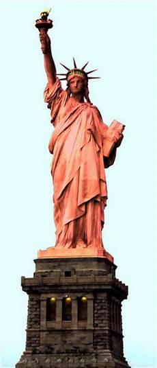 De Quelle Couleur Est La Statue De La Libert 233 En Ce Moment