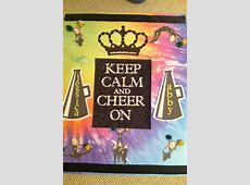 Cheer camp door decoration idea   Cheer decorations, Cheer
