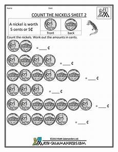 homeschool worksheets money 2171 new 224 counting nickels worksheets 1st grade counting worksheet