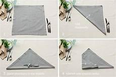 bestecktasche falten anleitung bestecktasche falten aus servietten 15 anleitungen f 252 r