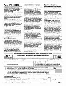 irs w 4 federal tax form 2018 2019 printable